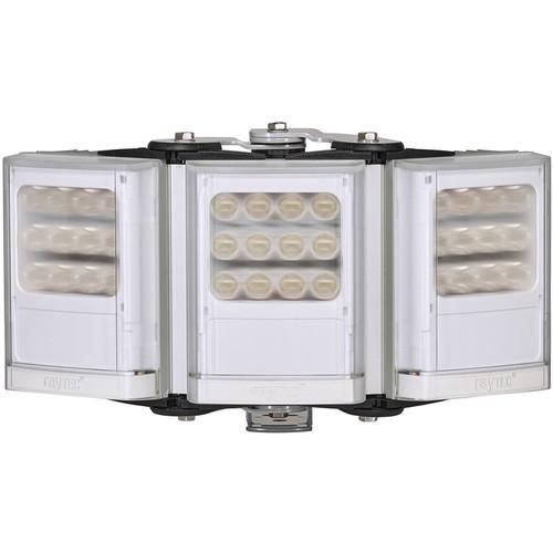 Raytec VARIO2 Medium-Range Triple-Panel White Light Illuminator with Adaptive Illumination (Silver)