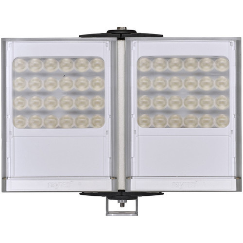 Raytec VARIO2 Long-Range Double-Panel White Light Illuminator with Adaptive Illumination (Silver)