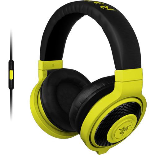 Razer Kraken Mobile Headphones (Neon Yellow)
