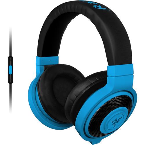 Razer Kraken Mobile Headphones (Neon Blue)