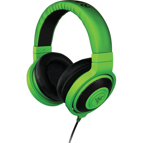 Razer Kraken Analog Music & Gaming Headphones (Green)