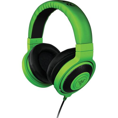Razer Kraken Analog Music & Gaming Headphones (Green)