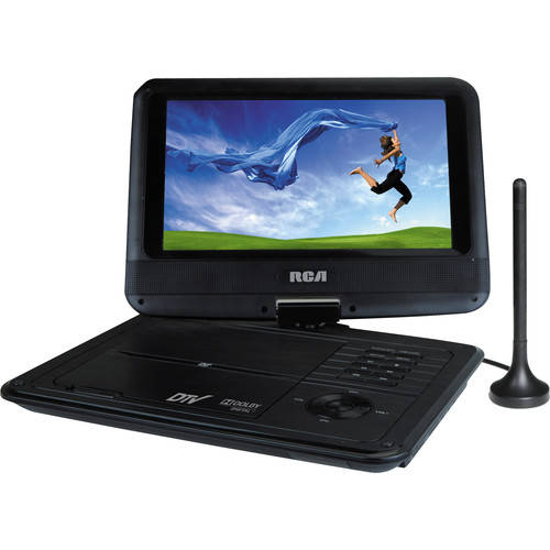 "RCA 9"" Portable DVD/TV Combo Player"