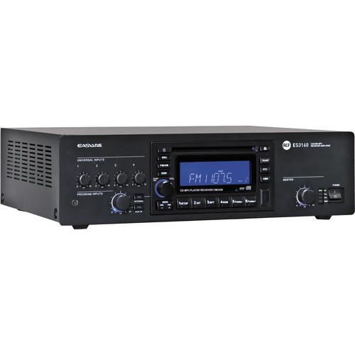 rcf es 3160 mixer amplifier and digital receiver es3160 b h. Black Bedroom Furniture Sets. Home Design Ideas