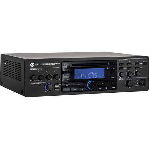 RCF ES 3323-II 3-Zone CD/USB/Bluetooth/MP3 Digital Receiver Amplifier