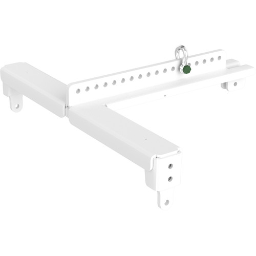 RCF Light Flybar for Six HDL10 Systems with Pole Mount Adapter (White)