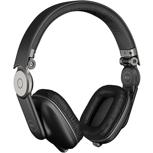 RCF Iconica Supra-Aural Headphones (Pepper Black)