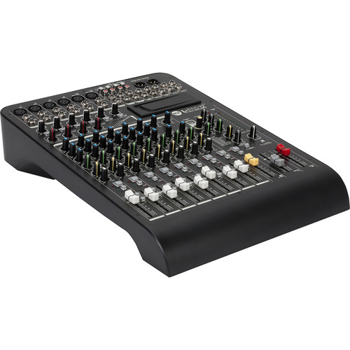 RCF L-PAD 12CX 12-Channel Mixing Console with Effects (Black)
