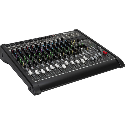 RCF L-PAD 16CX USB 16-Channel Mixing Console with Effects (Black)