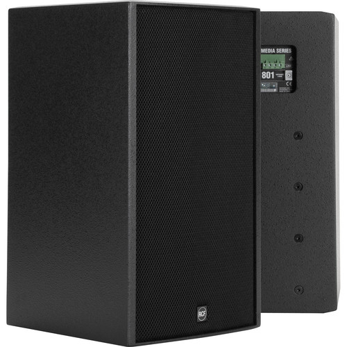 "RCF M801 8"" Two-Way Passive Speaker System (Black)"