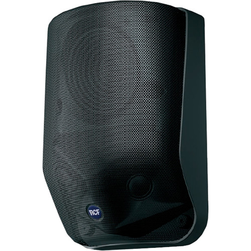 RCF 2-Way Wall Mount Speaker (Black)