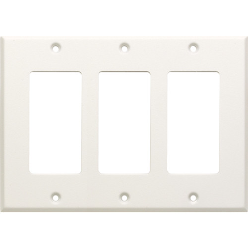 RDL CP-3 Triple Cover Plate (White)