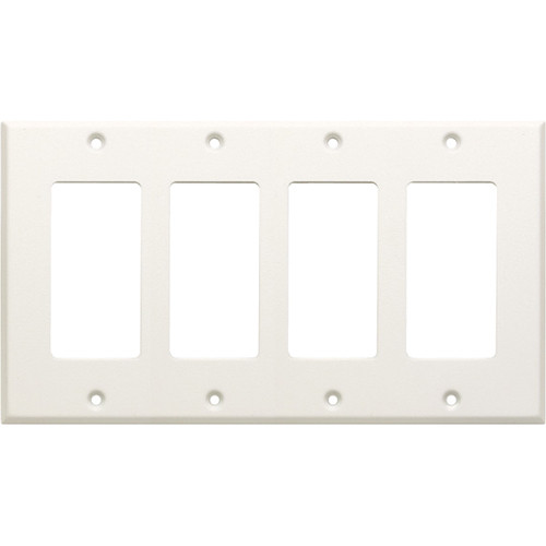 RDL CP-4 Quadruple Cover Plate (White)