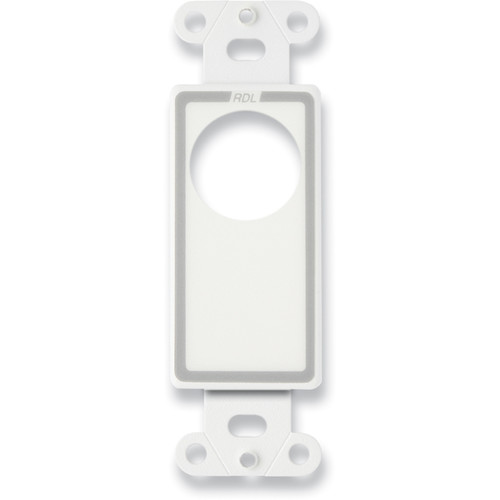RDL Single Plate for DD-BN2M Interface (White)