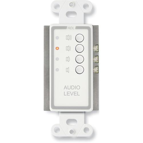 RDL D-RLC3 Remote Level Control, Preset Level (White)