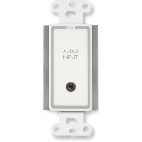 RDL D-TPS8A Active Two-Pair Sender with Format-A & Mini-Jack Inputs (White)