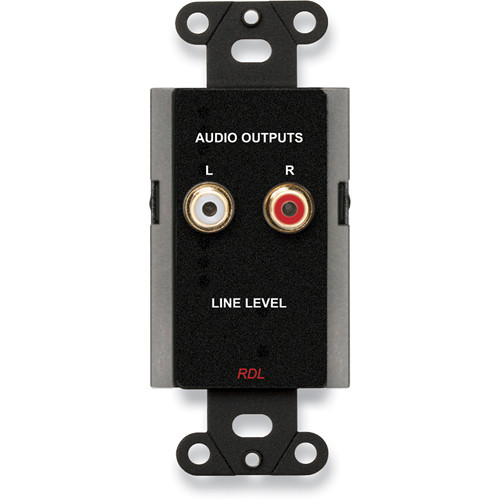 RDL DB-A2 Line Output Assembly (Black)
