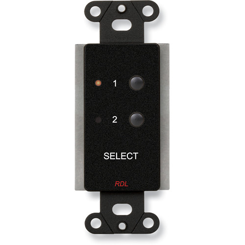 RDL DB-RC2ST 2-Channel Remote Control for STICK-ON (Black)