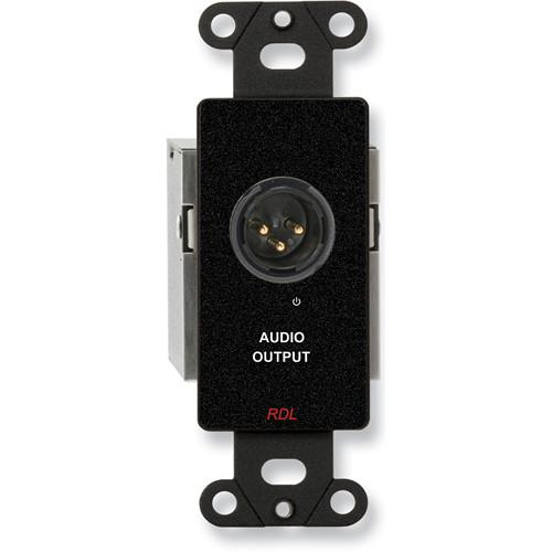RDL DB-TPR1A Active Single Pair RJ45 Receiver Module (Black)