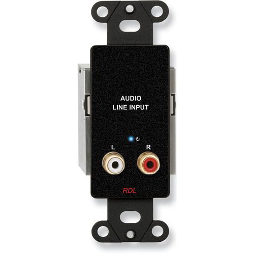 RDL DB-TPS2A Active Dual Pair RJ45 Sender Module (Black)