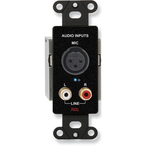 RDL DB-TPS3A Triple Pair RJ45 Sender Module (Black)
