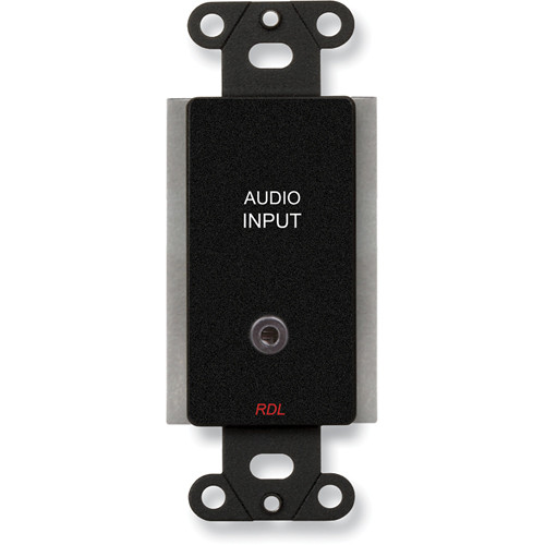 RDL DB-TPS8A Active Two-Pair Sender with Format-A & Mini-Jack Inputs (Black)
