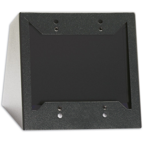 RDL DC-2B Desktop or Wall Mounted Chassis for 2 Decora Units (Black)