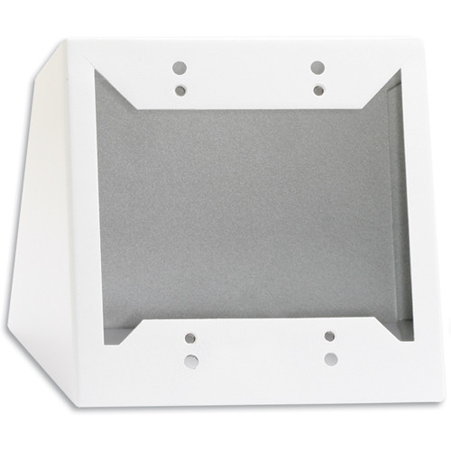 RDL DC-2W Desktop or Wall Mounted Chassis for 2 Decora Units (White)