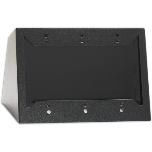 RDL DC-3B Desktop or Wall Mounted Chassis for 3 Decora Units (Black)
