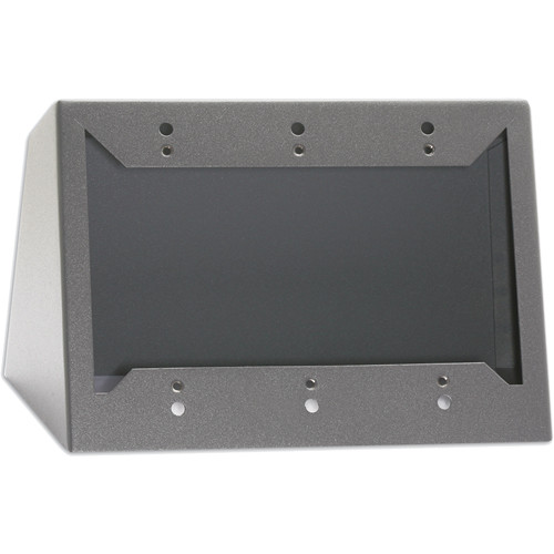 RDL DC-3G Desktop or Wall Mounted Chassis for 3 Decora Units (Gray)