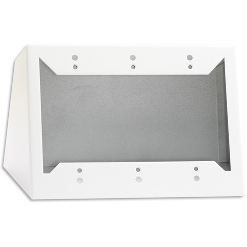 RDL DC-3W Desktop or Wall Mounted Chassis for 3 Decora Units (White)