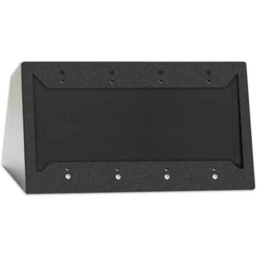 RDL DC-4B Desktop or Wall Mounted Chassis for 4 Decora Units (Black)