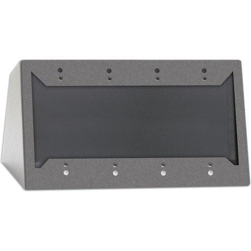 RDL DC-4G Desktop or Wall Mounted Chassis for 4 Decora Units (Gray)
