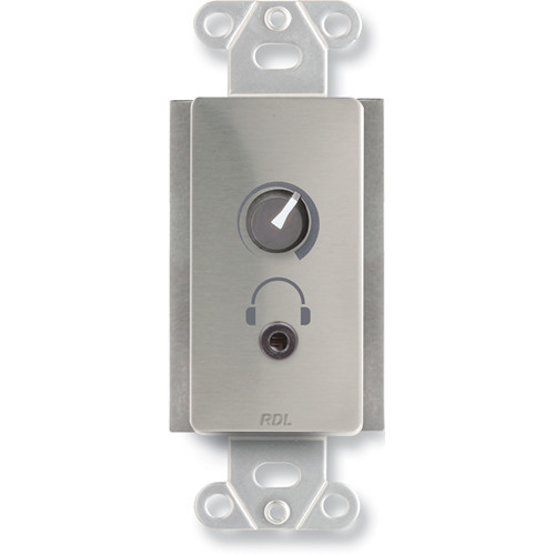 RDL DS-HA1A Format-A Stereo Headphone Amplifier (Silver)