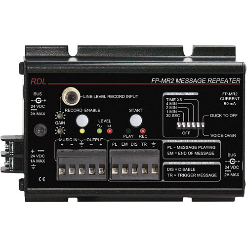 RDL FP-MR2 Message Repeater