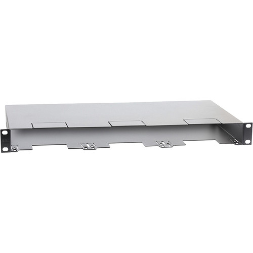 """RDL 19"""" Universal Rack Chassis for Modules and Accessories (1RU)"""
