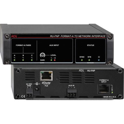 RDL RU-FNP Format-A Network Interface (PoE)