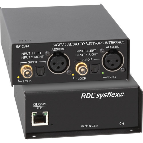 RDL Digital Audio to Network Interface