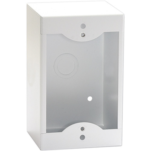 RDL SMB-1W Surface Mount Box for Single Decora-Style Product (White)