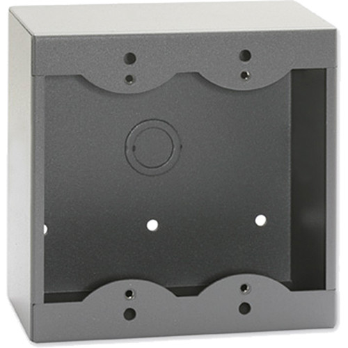 RDL SMB-2G Surface Mount Box for 2 Decora-Style Products (Gray)