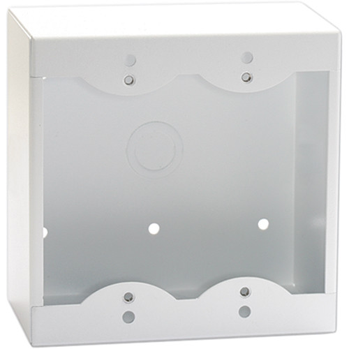 RDL SMB-2W Surface Mount Box for 2 Decora-Style Products (White)