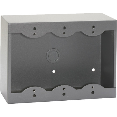 RDL SMB-3G Surface Mount Box for 3 Decora-Style Products (Gray)