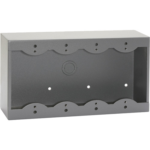RDL SMB-4G Surface Mount Box for 4 Decora-Style Products (Gray)