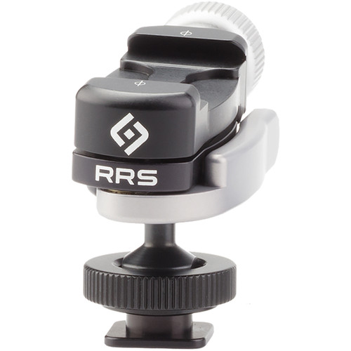 Really Right Stuff FA-HSA Hot Shoe Adapter with BC-18 Micro Ball Clamp