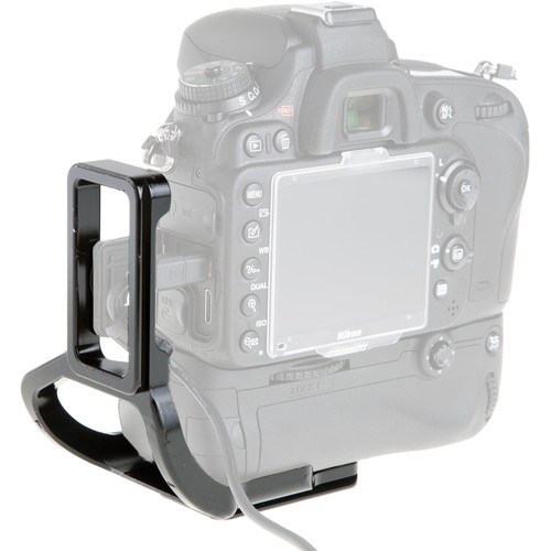 Really Right Stuff BMBD14-L L-Plate for Nikon D600 and D610 with MB-D14 Grip
