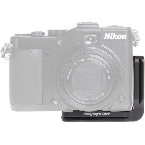 Really Right Stuff BP7000-L L-Plate for Nikon COOLPIX P7000