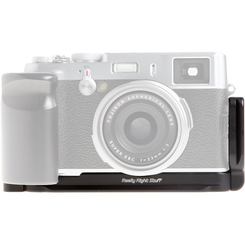 Really Right Stuff BX100 Set L-Plate and Grip for Fujifilm X100 and X100S