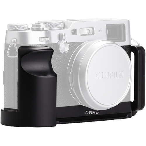 Really Right Stuff L-Plate Set and Grip for Fujifilm X100F