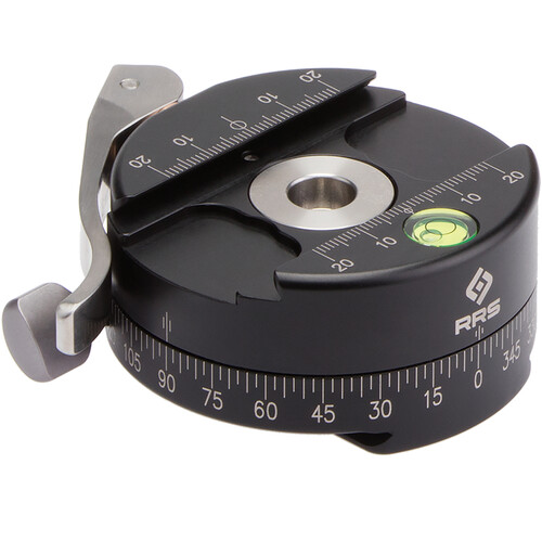Really Right Stuff Round Lever-Release Style Clamp with Panning Base, 72mm