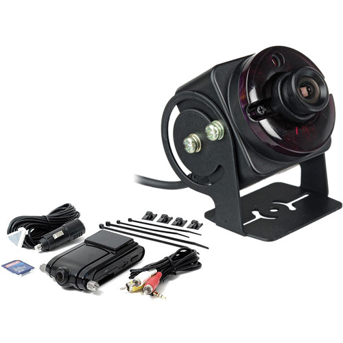 Rear View Safety Black Box Camera System with RVS-302 Additional Camera Kit